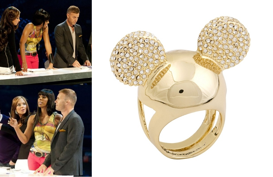 Kelly Rowland wears MAWI for Disney Couture ring